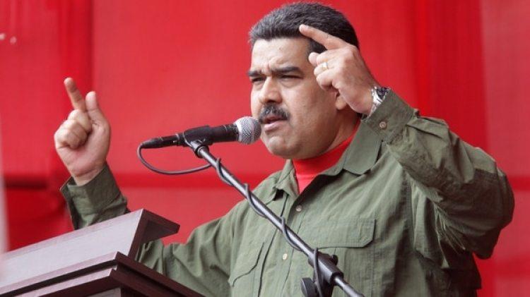 Nicolás Maduro anunció su candidatura presidencial (EFE)