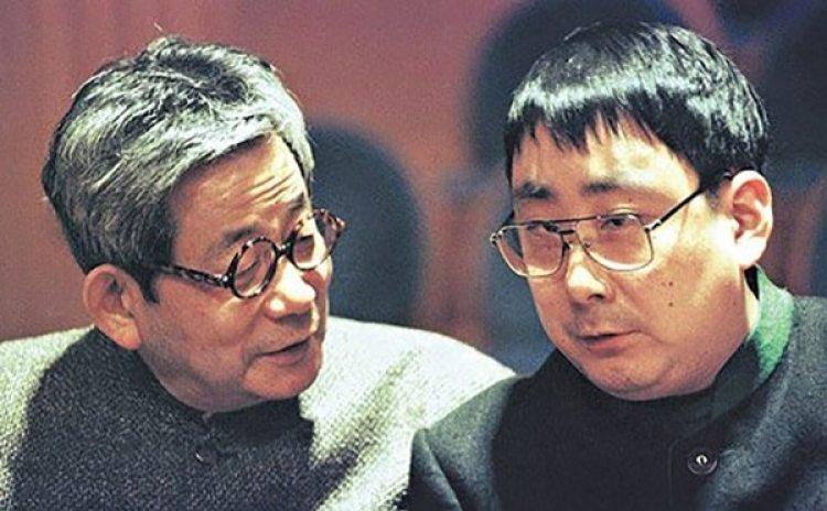 Kenzaburo y su hijo