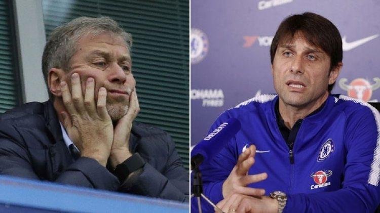 Roman Abramovich y Antonio Conte atraviesan una crisis por la falta de fichajes del Chelsea