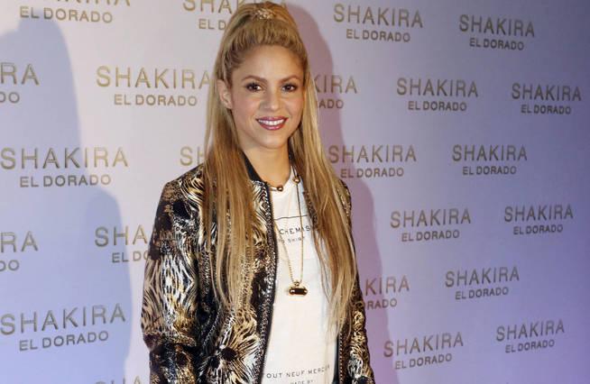 Shakira presenta su último álbum