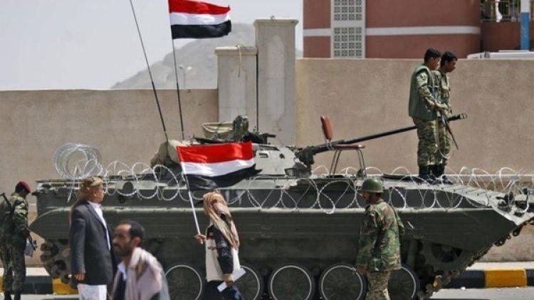 Soldados del ejército yemení leal al gobierno