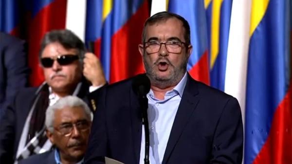 El partido del Centro Democrático intentará impugnar la candidatura de Timochenkoya que los ex guerrilleros aún no ha respondido por sus crímenes
