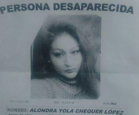 Alondra, la joven desaparecida