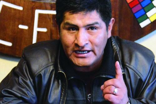 """Gobierno considera a Mitma como """"exdirigente de la COB"""" y anticipa fracaso del paro"""