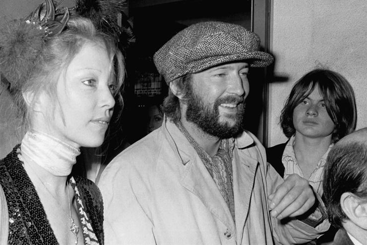 Clapton y Boyd permanecieron juntos durante una década