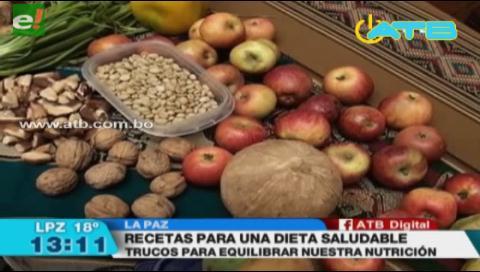 Expertos afirman que Bolivia tiene alimentos para un desayuno saludable
