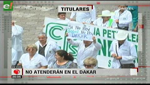 Video titulares de noticias de TV – Bolivia, noche del miércoles 3 de enero de 2018