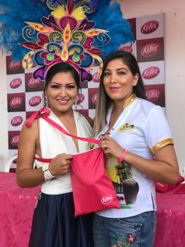 Maria Rene Caero I Reina del Carnaval de Porongo, Claudia Caero