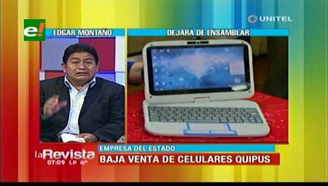 Diputado Montaño desmiente quiebra de la empresa Quipus y afirma que seguirá funcionando