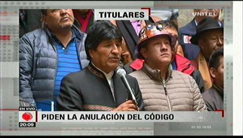 Video titulares de noticias de TV – Bolivia, noche del viernes 5 de enero de 2018