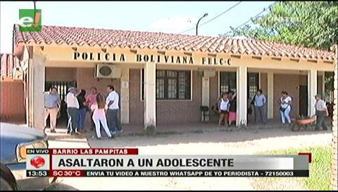 Menores son detenidos por robar un celular y dinero