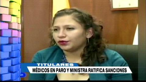 Video titulares de noticias de TV – Bolivia, mediodía del miércoles 10 de enero de 2018