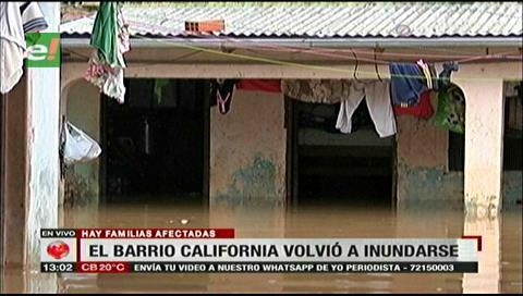 Santa Cruz: Vecinos de los barrios California y El Carmen claman por ayuda tras inundación