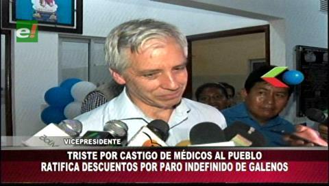 Vicepresidente ratifica descuentos a los médicos