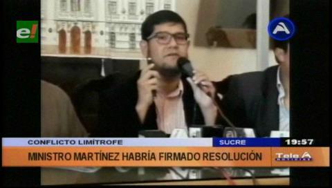 "Límites con Santa Cruz: Presidencia asesta un ""duro golpe"" a Chuquisaca"