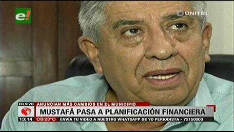 Fernando Mustafá será el nuevo director de Planificación Financiera de la Alcaldía cruceña