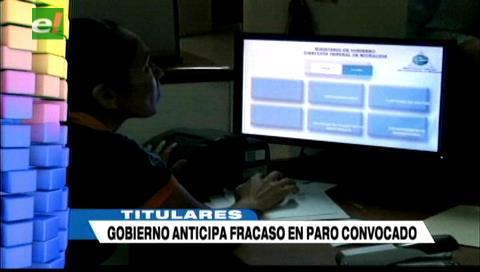 Video titulares de noticias de TV – Bolivia, mediodía del viernes 19 de enero de 2018