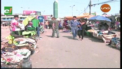 Santa Cruz: Ratifican desalojo de ambulantes y continúa traslado de mercados
