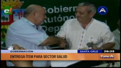 Gobernación entrega 270 ítems de salud para hospitales de Santa Cruz