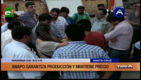 Anapo y Caniob piden consensuar precio de la soya