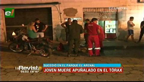 Santa Cruz: Joven muere apuñalado en el Parque El Arenal