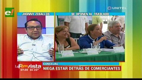 Concejal Zeballos dice apoyar el traslado de mercados, espera que gremiales se informen