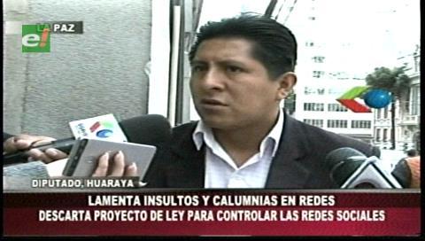 Diputado del MAS aclara que no existe proyecto de ley para regular uso de redes sociales en Bolivia