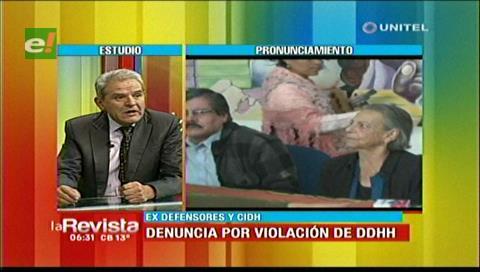 Villena espera que el CIDH pueda hacer respetar el voto del 21 de febrero