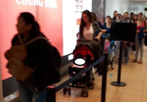 Vieron a la esposa de García Linera en el aeropuerto de Lima