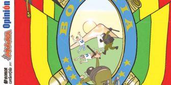 Caricaturas de Bolivia del sábado 20 de enero de 2018