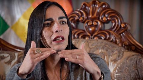 Gabriela Montaño, presidenta de la Cámara de Diputados