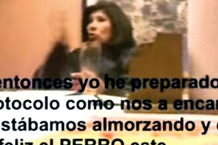 Aparece video en el que Rossío Pimentel insulta al Presidente