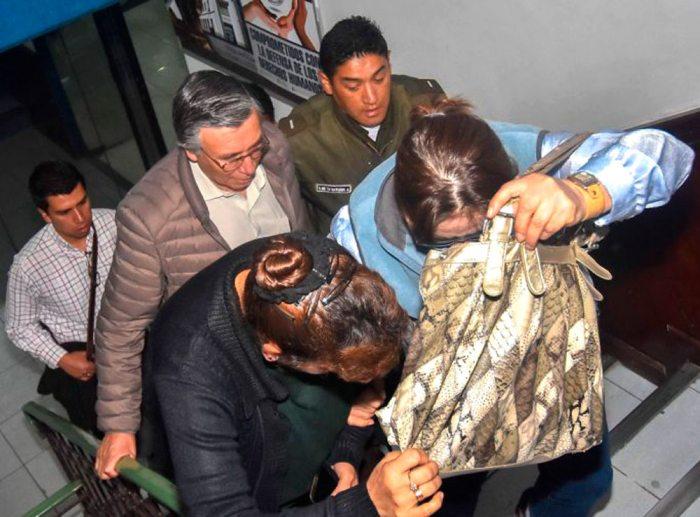 FUNCIONARIAS IMPLICADAS EN EL CASO DE DESVÍO DE INSUMOS DEL HOSPITAL OBRERO DE LA CIUDAD DE LA PAZ.