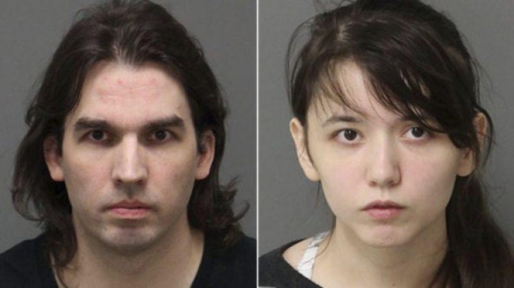 Steven y Katie Pladl fueron arrestados el pasado 27 de enero. El caso se conoció en las últimas horas e indignó a los Estados Unidos (Centro de Detención del Condado de Wake)