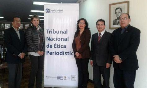 Los miembros salientes del TNEP que deja sus funciones tras dos años de gestión.