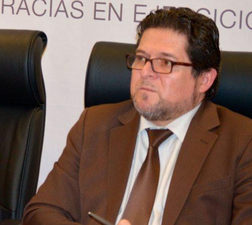 JOSÉ LUIS EXENI, VICEPRESIDENTE DEL TSE.