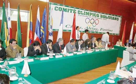 Resultado de imagen para El Comité Olímpico Boliviano (COB)