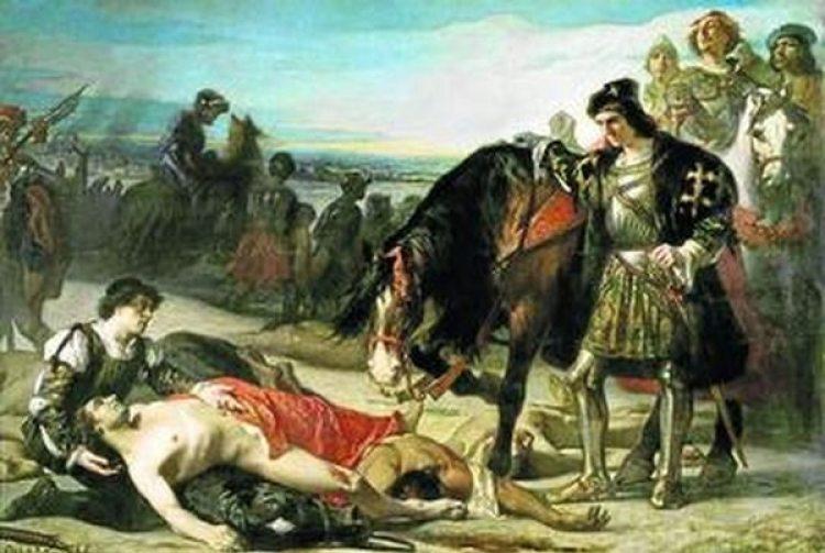 Contra todos los pronósticos, Gonzalo Fernández de Córdoba vence a los franceses en la batalla de Ceriñola (1503)