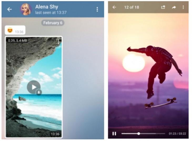 Telegram llega con streaming y otras nuevas funciones en Android