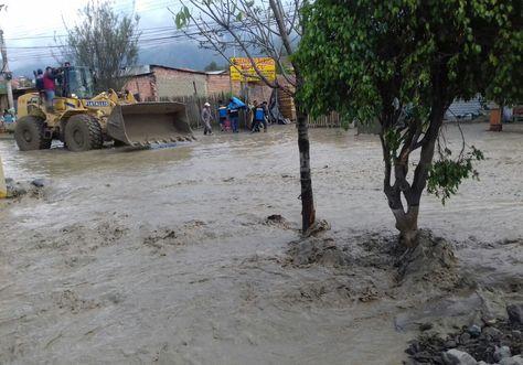 La mazamorra en Tiquipaya dejó varias viviendas afectadas.