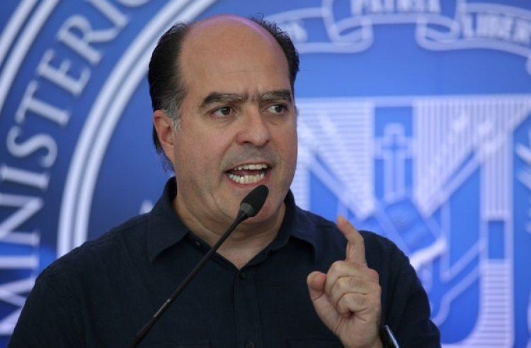 Julio Borges, representante de la oposición en los diálogos de Santo Domingo (REUTERS/Ricardo Rojas)