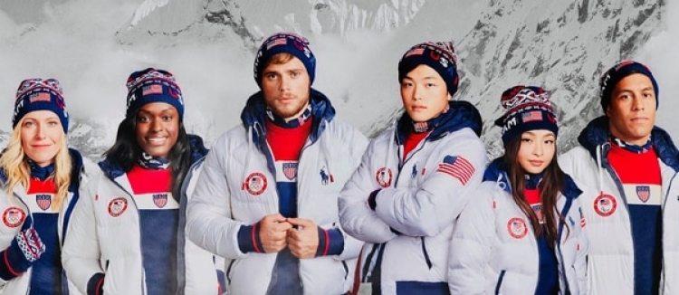 Parte del equipo olímpico norteamericano