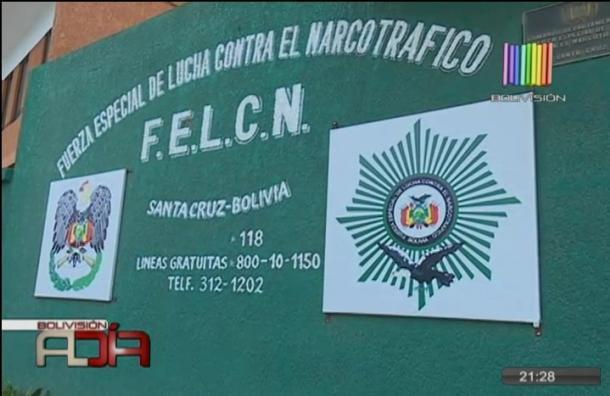 Policía de la Felcn es detenido con droga