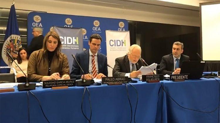 La presentación del Informe de la CIDH