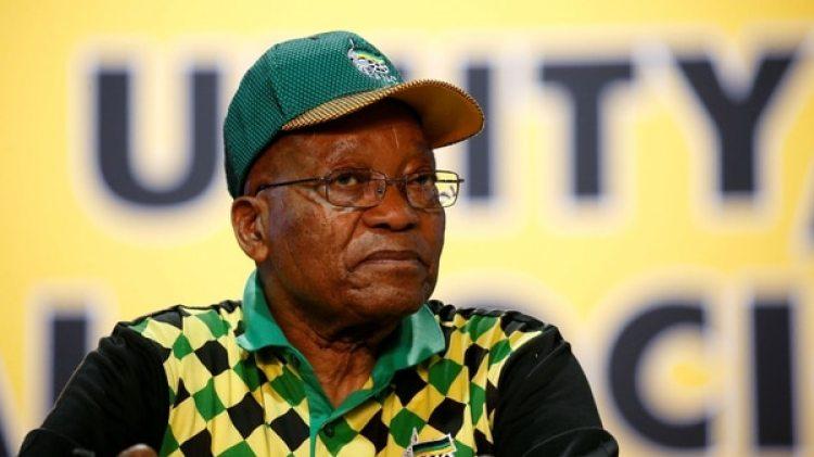 El presidente sudafricano Jacob Zuma