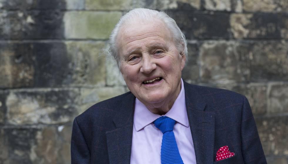 El historiador John Julius Norwich en 2014 en Oxford.