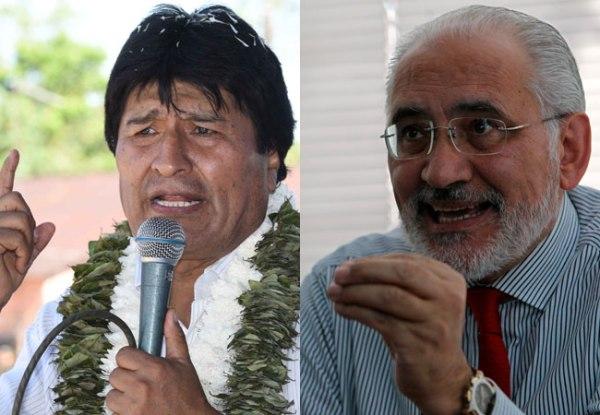 Evo Morales perdería elecciones contra Carlos Mesa, según encuesta