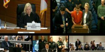 El tirador de Florida, ante la Justicia: enfrenta cargos por 17 asesinatos premeditados y seguirá preso sin fianza