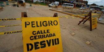Aparecen más hoyos en la urbe y Saguapac arregla primeros baches