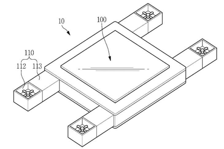 Dron Samsung controlado con la mirada